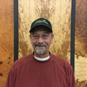 Warehouse manager at Interwood Forest Products, Dave Kiley.