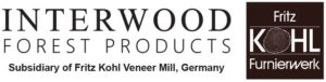 Joint logos for Interwood Forest Products and Fritz Kohl.